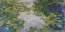 Water Lilies, 1917/1919 by Claude Monet Art Print Museum Poster 11x14