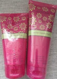 (2) Mary Kay Exotic Passionfruit Sugar Scrub & Shower Gel.New