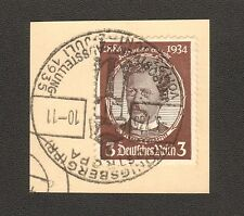 RARE Stamp Germany Mi 540a Sc 432 1934 3rd Reich War Luderitz Colonial