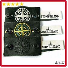 Genuine STONE ISLAND Badge Patch X3, pulsanti etichetta per Maglione, Giacca Cappotto Drake