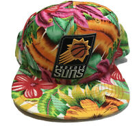 Phoenix Suns Tropical Neon Colors Snapback Hat - Mitchell And Ness Brand -RARE!!