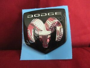 NOS OEM Dodge Intrepid Ram's Head Hood Emblem 1993 - 94