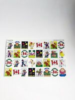 Happy Canada Day Stickers National Holiday Canadian Stickers Vintage 1990s