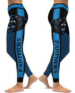 Carolina Panthers Leggings Small-XXL (0-14) Football Fan Gift Game Gear Q581