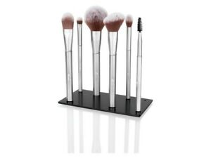 Miomare Magnetic Makeup Brush Set and stand high quality storage base silver