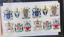 Waterslide Transfers Knights Coats of Arms K19 Colour 54mm Scale Langley Decals