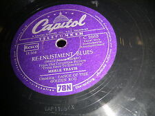 9/1R Merle Travis - RE-Enlistment Blues - Dance of the Golden Rod