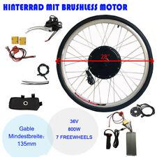 "36V 28"" Kit di Conversione per Cassette Ruota Posteriore Motore per E-bike DHL"