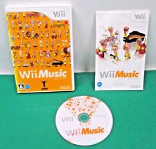 Nintendo Wii -- Wii Music -- w/o outer box *JAPAN GAME* 52142