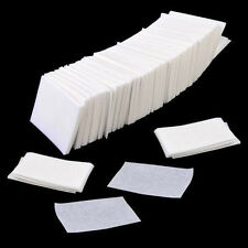 1000PCS Acrylic UV Gel Tips Cotton Pads Nail Polish Remover Cleaner Wipes White