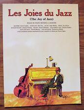 """""""LES JOIES DU JAZZ"""" - PARTITIONS - SOLOS DE PIANO MOYENS À AVANCÉS - SWING ROCK"""