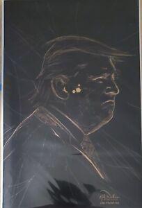 Amazing Sycophant 2nd print.  Gold Variant.   Spider-Man 55 Donald Trump