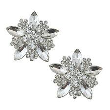 "Jewelled Shoe Clips, Shoe Jewels, Bridal Prom Shoe Accessories (1 Pair) ""Elsa"""