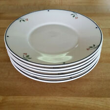 Gorham Ariana 6 Saucers Gourmet Collection Saucers Only No Cups