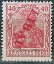 German Occupation Latvia LIBAU Error Signed BPP Very Fine # 51