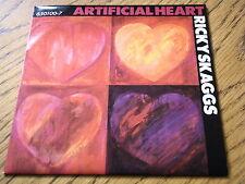"""RICKY SKAGGS - ARTIFICIAL HEART  7"""" VINYL PS"""