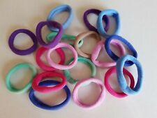 Elastique à cheveux en mousse multicolore - 5cm - lot de 20 - LEL21