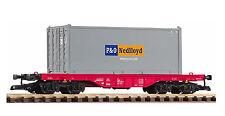 Piko 37727 G - Flachwagen mit Container der NS NEU & OvP