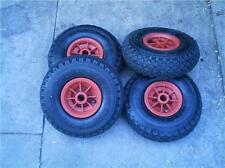 "4  x 10"" Pneumatic Plastic Wheels - 20mm Bore"