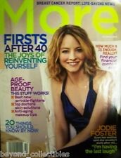 MORE MAGAZINE - JODIE FOSTER COVER