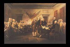 358094 dichiarazione d'indipendenza John trumbell A4 FOTO STAMPA