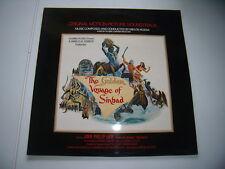 Miklos Rozsa--The Golden Age of Sinbad--Vinyl: Mint