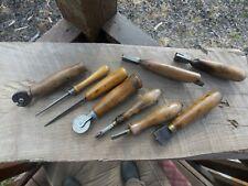 Vintage Leather Tools