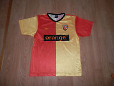 Maillot Football RC Lens Nike Sponsor Orange Taille 12 ans Saison 2004 2005