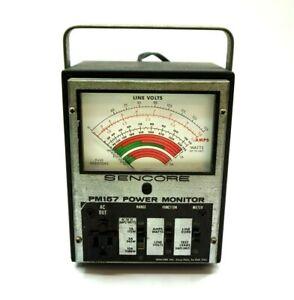 SENCORE PM157 Power Line Monitor ~ Powers on fine
