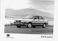 "AUDI 90 QUATTRO ORIGINAL PRESS PHOTO ""BROCHURE RELATED"" 2 OF"