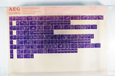 AEG Olympia Ersatzteilkatalog Schreiben mechanisch 1 Microfiche Jahr 1988 K171