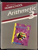 Abeka 3rd Grade Arithmetic Home School Curriculum/Lesson Plans