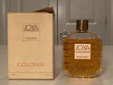 Vintage New in Box JOYA Colonia Myrurgia Eau de Cologne 3.5 oz/105 mL Spain