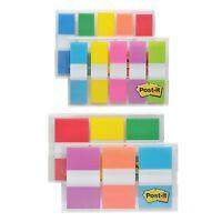 "3m Flag Combo Pack - 320 X Multicolor - 0.50"", 1"" - Multicolor - Self-adhesive,"
