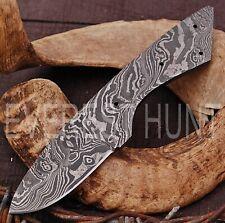 EVEREST HUNT CUSTOM MADE DAMASCUS BLANK BLADE HUNTING SKINNER KNIFE B4-1803