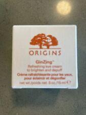 Origins Ginzing Refreshing Eye Cream Brighten & Depuff 0.17 oz / 5ml New Jar