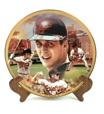 Vintage 1995 The Bradford Exchange Cal Ripken Jr Collector's Plate #10527F