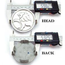 Peugeot Hub Caps Wheel center cap back 53mm. / Head 60mm. 1SET/4PCS