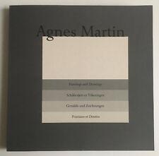 AGNES MARTIN portfolio 10 lithographs 1991 STEDELIJK MUSEUM lewitt judd rothko