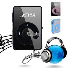 Mini Clip Fashoin Metal USB MP3 Ayuda Música Media Player 1-8 GB Micro SD TF DF