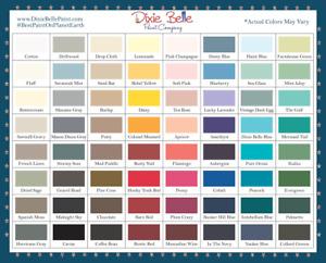 Dixie Belle Chalk Mineral Paint, 8 16 32oz, all colors, free shipping orders>$35