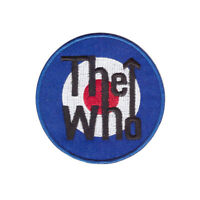 The Who Rock Band logo badge Iron On Patch Sew On Transfer