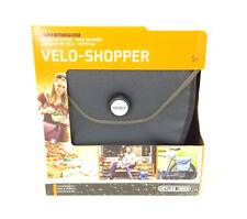 Ortlieb Velo-Shopper Bicycle Pannier QL2.1, Gray/Black, Waterproof