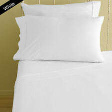 1 Qty Fitted Sheet US Full Size 800TC Egyptian Cotton Scala !Made in India