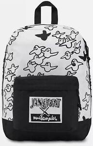 "JANSPORT x MARK GONZALEZ ""The Gonz Bird Hatchet"" MG BACKPACK WHITE/BLACK"