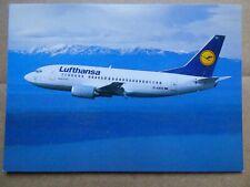 LUFTHANSA   B 737-500   / CARTE COMPAGNIE / AIRLINE ISSUE