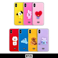 BTS BT21 Official Authentic Goods Acrylic Jelly Case By GCASE + Tracking Number