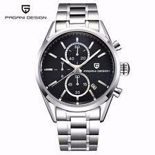 PAGANI DESIGN Luxury Brand Casual Men Quartz Watch Business Wrist Watch Leather