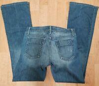 Joes Jeans Sz 30 Boot Cut Stretch Denim Muse Fit Deneuve Blue USA Womens 30 x 34