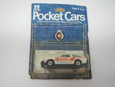 Tomy Tomica Pocket Cars Toyota Celica No. 215-33-1 (1)